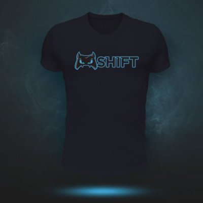 Blue Evil SHIFT T-Shirt