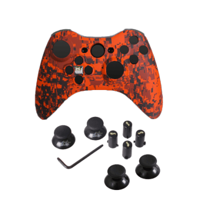 Orange Urban Evil D-Pad Faceplate Only Kit