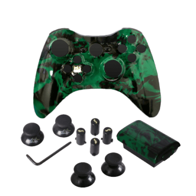 Green Fire Evil D-Pad Controller Kit