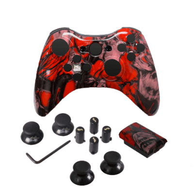 Red Nightmare Evil D-Pad Controller Kit
