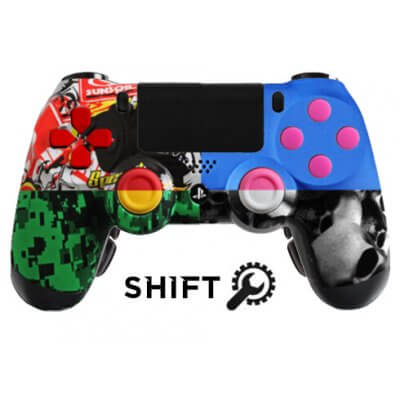 PS4 Evil Shift Custom Controller