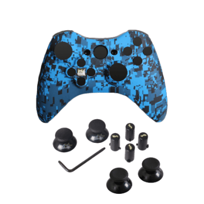 Blue Urban Evil D-Pad Faceplate Only Kit