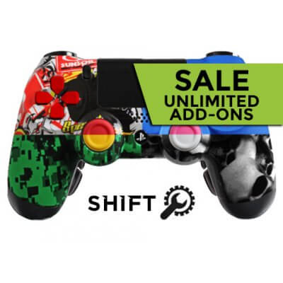 PS4 Unlimited Add-Ons Evil Shift Custom Controller