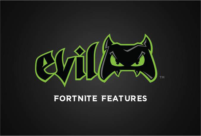 PlayStation 4 Evil Fortnite Controller | Evil Controllers