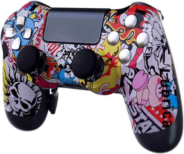 PS4 Evil MasterMod Extreme Series Modded Controller