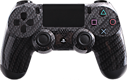 ps4 evil shift carbon fiber black silver eSports Pro Controller