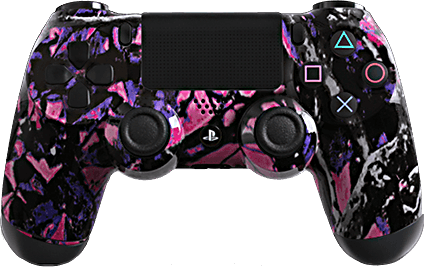 PS4 Evil MasterMod Extreme Midnight Modded Controller