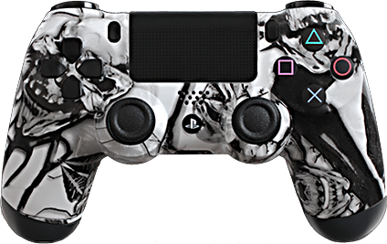 ps4 evil shift extreme white nightmare eSports Pro Controller
