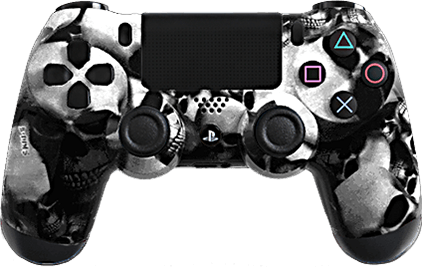 ps4 evil shift extreme white skullz eSports Pro Controller
