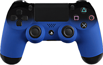 ps4 evil shift fade blue  eSports Pro Controller