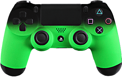 ps4 evil shift fade green  eSports Pro Controller