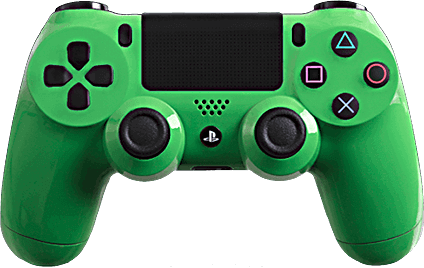 PS4 Evil MasterMod Glossy Green Modded Controller