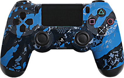 ps4 evil shift blue splash eSports Pro Controller