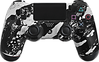 ps4 evil shift white splash eSports Pro Controller