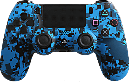 ps4 evil shift blue urban camo eSports Pro Controller