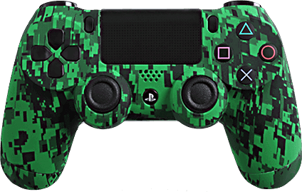 ps4 evil shift green urban camo eSports Pro Controller