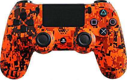 ps4 evil shift orange urban camo eSports Pro Controller