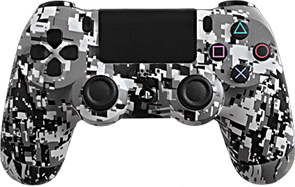 ps4 evil shift white urban camo eSports Pro Controller