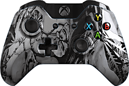 xbox one evil shift extreme silver nightmare eSports Pro Controller
