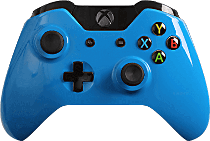 xbox one evil shift glossy blue  eSports Pro Controller
