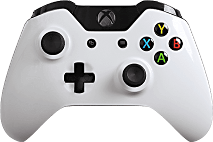 xbox one evil shift glossy white  eSports Pro Controller