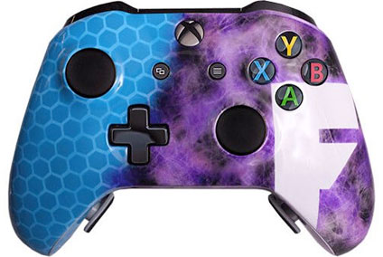ps4 evil shift soft touch blue eSports Pro Controller