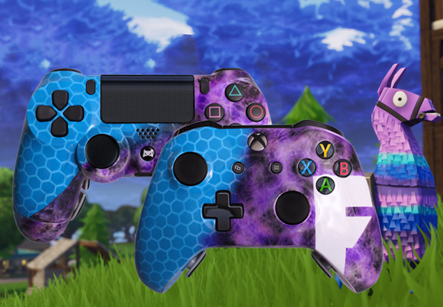 Modded Controller and Custom Controller For Xbox One and PS4 | Evil