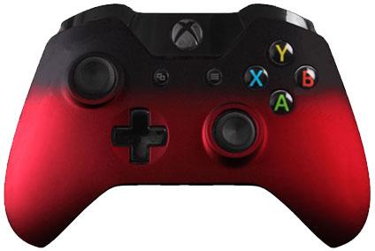 xone red fade eSports Pro Controller