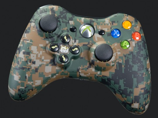 Thinking ahead on our MW2/Black Ops controllers for MW3