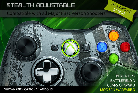 Stealth Adjustable Instructions Evil Controllers