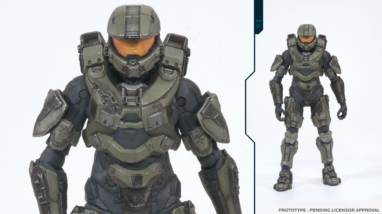 An Action Figure Gets Your First Peek At Halo 4 S Master Chief