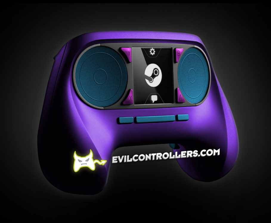 Valve Reveals Steam Controllers | Evil Controllers