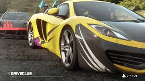 DRIVECLUB release date