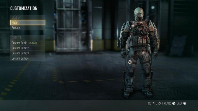 You Can Dress As A Zombie In Advanced Warfare Evil Controllers