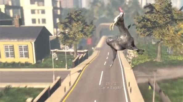 Goat Simulator Is Coming To Xbox Evil Controllers
