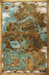 witcher 3 gamestop map