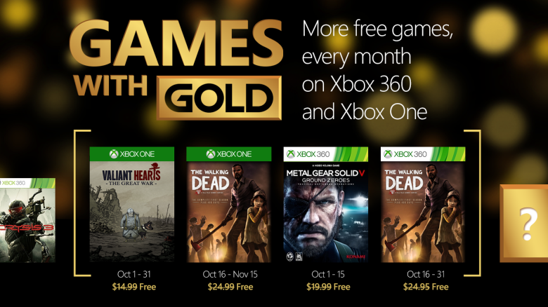 games with gold walking dead