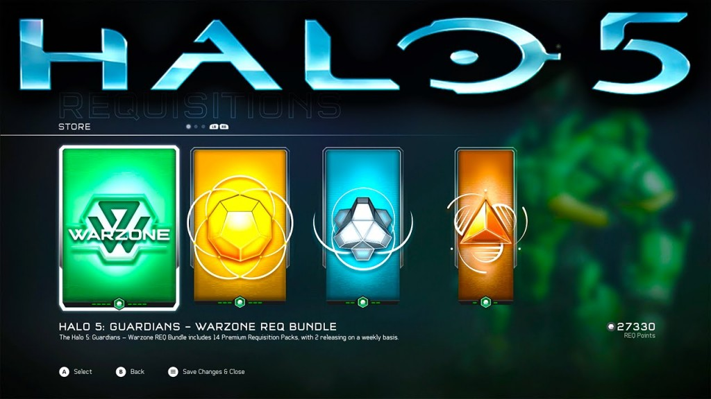 REQ Packs Halo 5