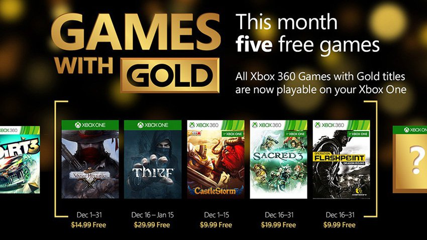 december games with gold 2015