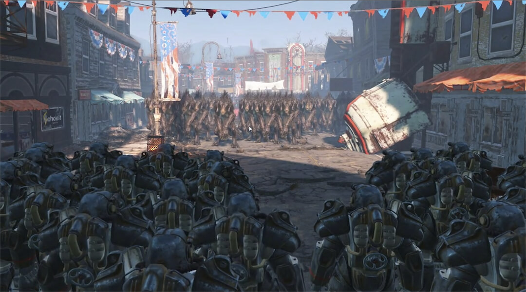 fallout 4 1000 deathclaws