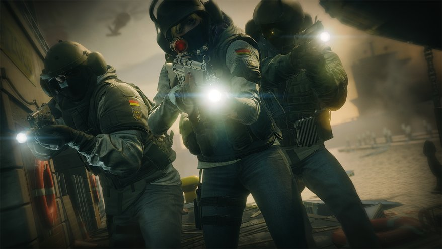 rainbow six siege launches