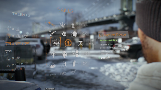 the division character creation
