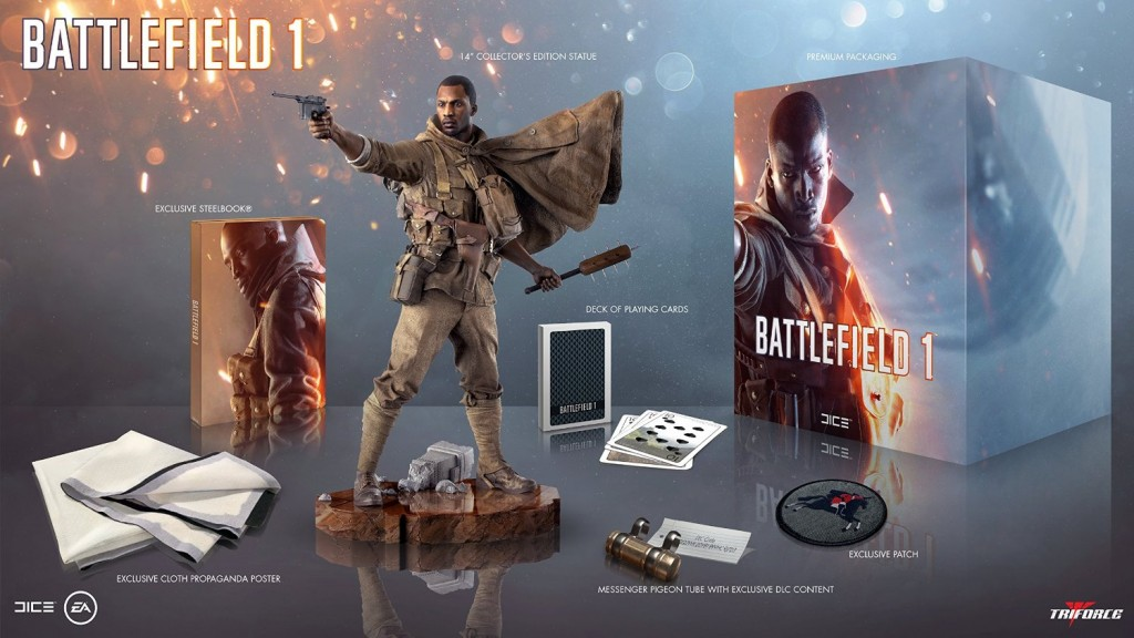 [battlefield 1 collectors edition