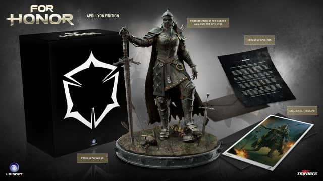For Honor Collector's Edition Announced