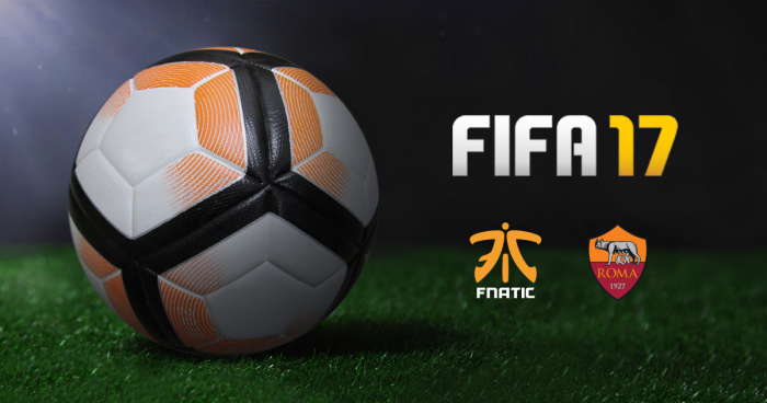 Fnatic and AS Roma Partner to Create FIFA eSports Team