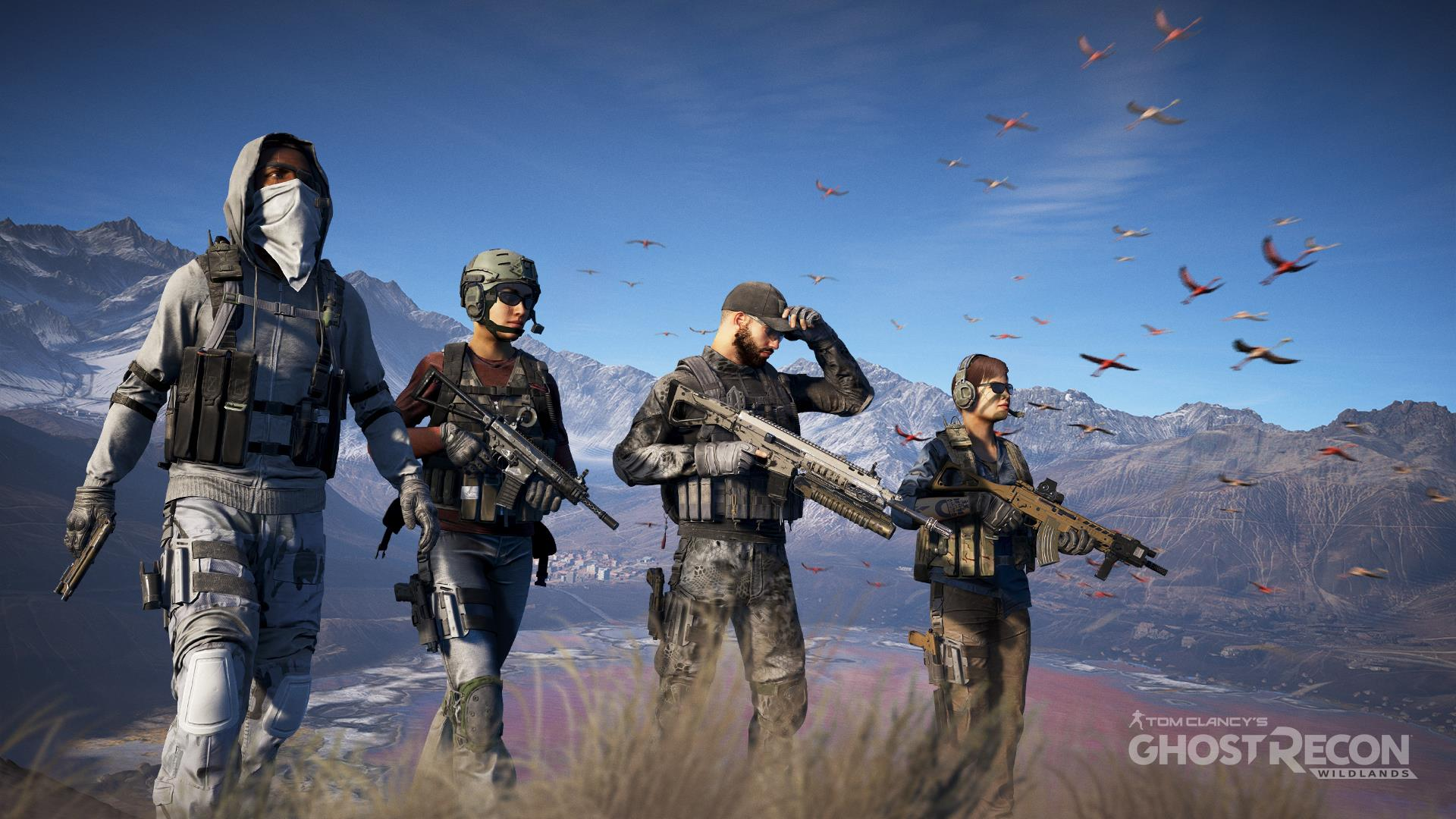 Ghost Recon Wildlands Open Beta Live