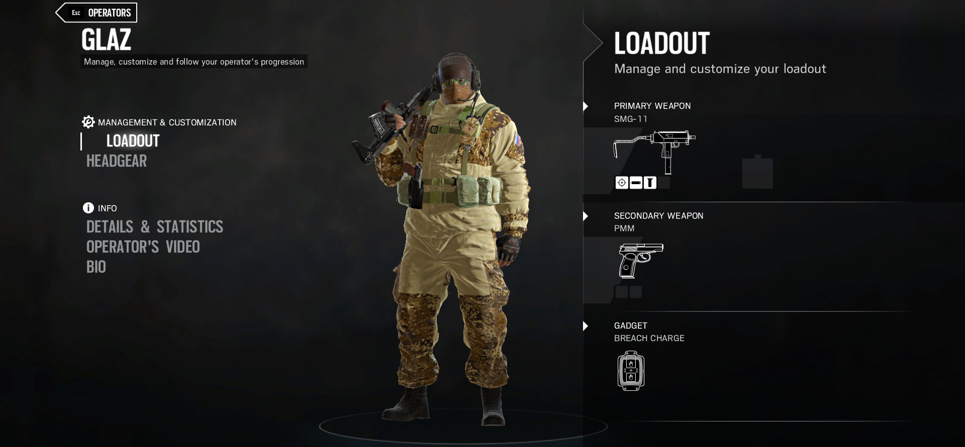 Glaz to Get Upgrade in Rainbow Six Siege