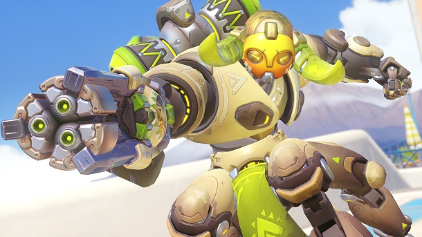 Orisa is Now Available in Competitive