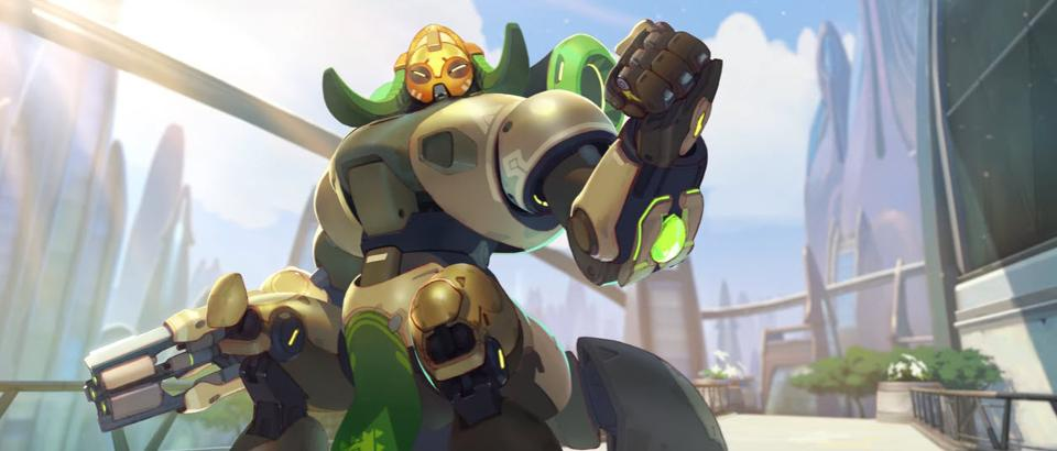 New Overwatch Character Orisa Announced