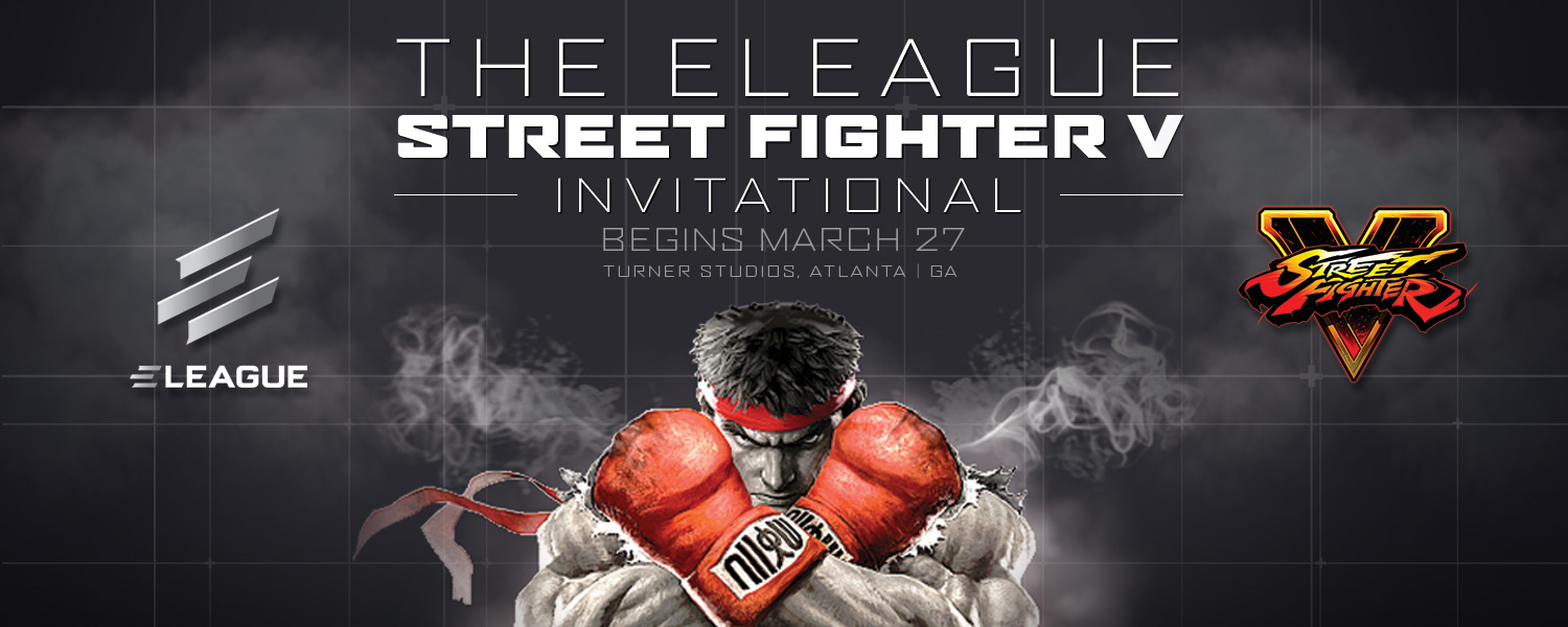 Street Fighter to Hit ELEAGUE